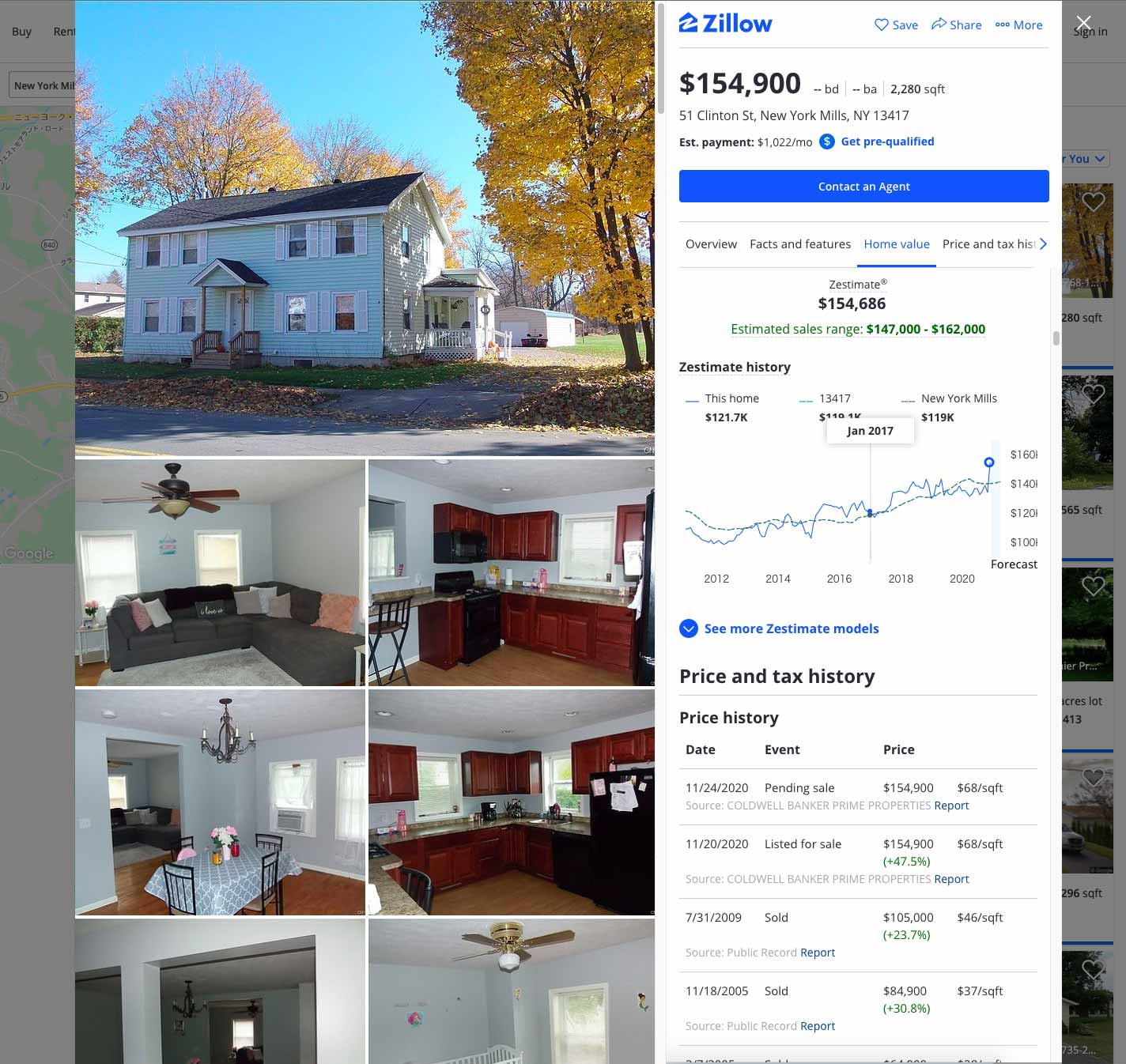 New York Mills Real Estate  | Zillow